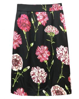 Fashion Floral Print  Vintage Skirt