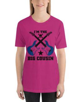 Im the big cousin Unisex Short Sleeve T-Shirts