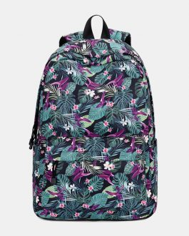 Large Capacity Print Waterproof Backpack School Bag