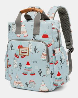 Light Weight Cartoon Large Capacity Backpack