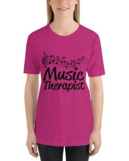 Music therapist Unisex Short Sleeve T-Shirts