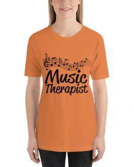 Music therapist Unisex Short Sleeve T-Shirts