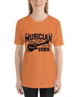 Musician since 1855 Unisex Short Sleeve T-Shirts