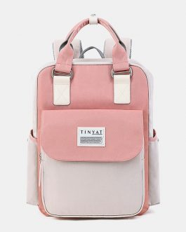 New Fashion Multi-color Anti-theft Backpack