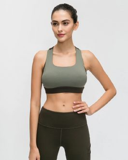 Push Up Cross Straps Sports Bras