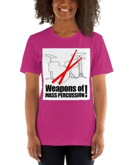 Weapons of Mass Percussion Unisex Short sleeve T-shirts