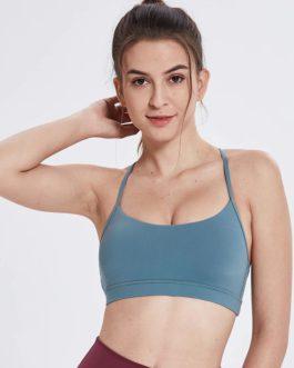 Anti-sweat Soft Nylon Running Gym Bras