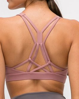 Beautiful Strappy Workout Sports Bras