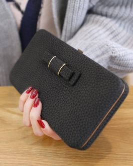 Bow knot Large Capacity Cute Card Holder Card Holder