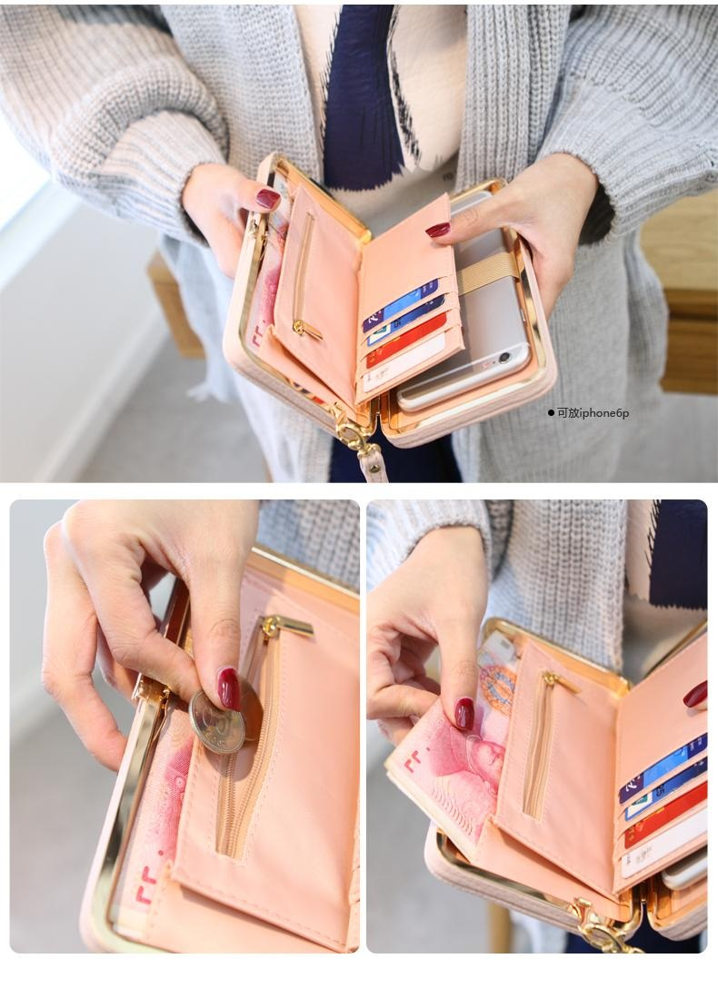 Bow knot Large Capacity Cute Card Holder Card Holder 11