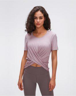 CROSS Nylon Workout Tops Fitness Shirts