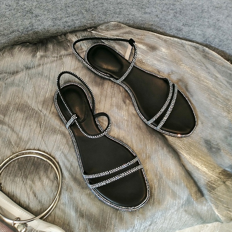 Casual Fashion Ankle Strap Flat Sandals 7.3 1