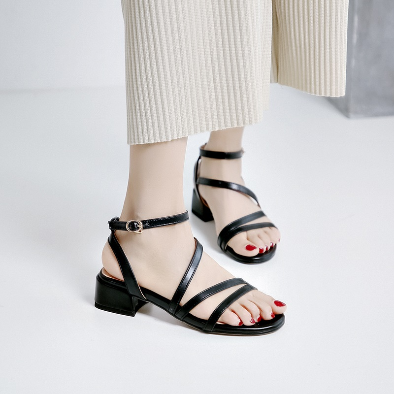 Casual Low Heels Sandals Pu Shoes 10.3