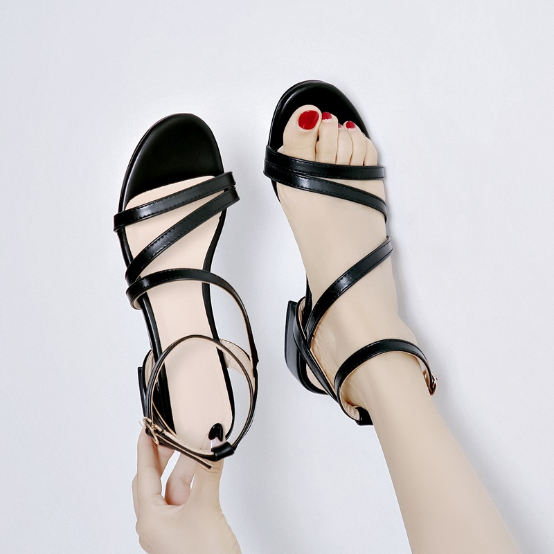 Casual Low Heels Sandals Pu Shoes 10.4