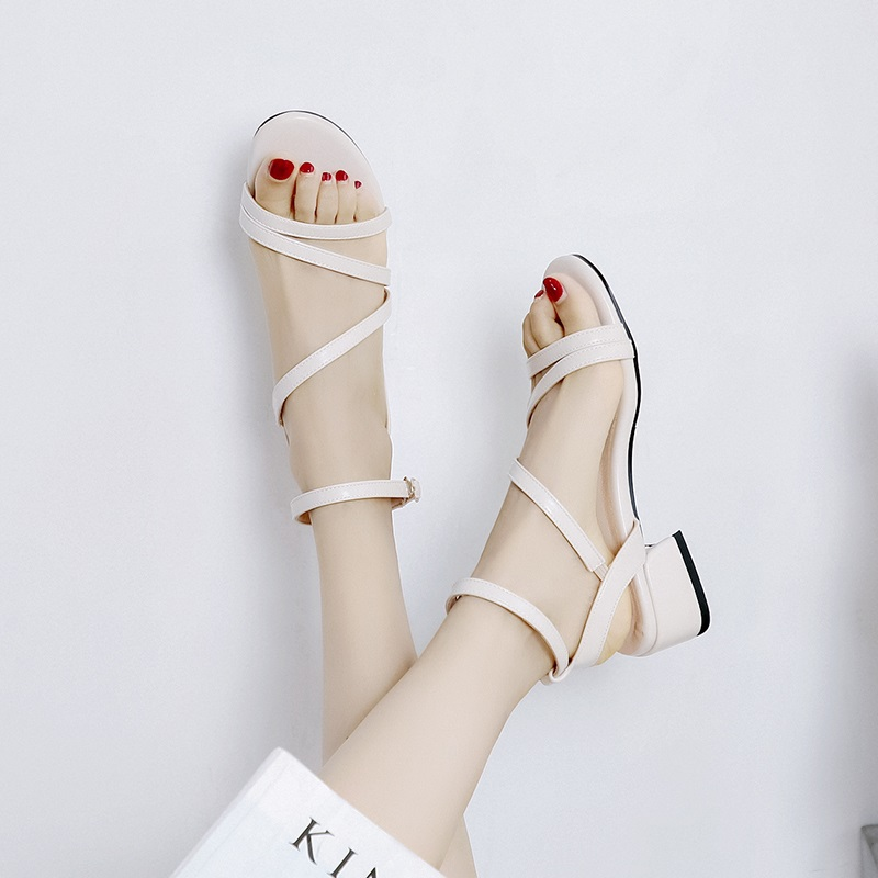 Casual Low Heels Sandals Pu Shoes 10.6