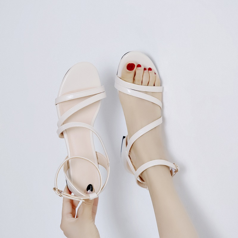 Casual Low Heels Sandals Pu Shoes 10.7