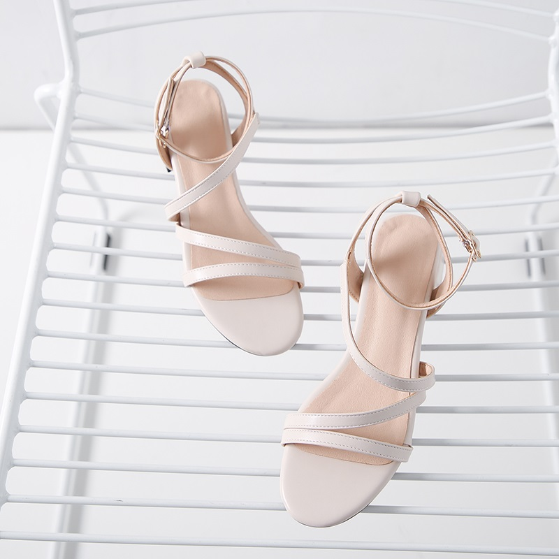Casual Low Heels Sandals Pu Shoes 10.8