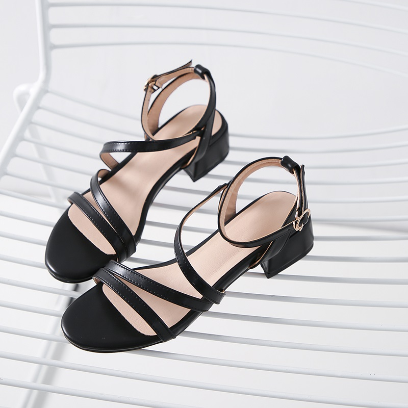 Casual Low Heels Sandals Pu Shoes 10.9