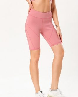 Fashion High Waist Yoga Half Legging