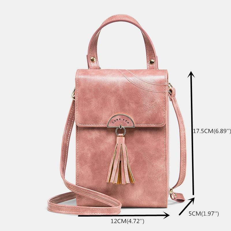 Fashion Tassel Shoulder Bag Phone Bag