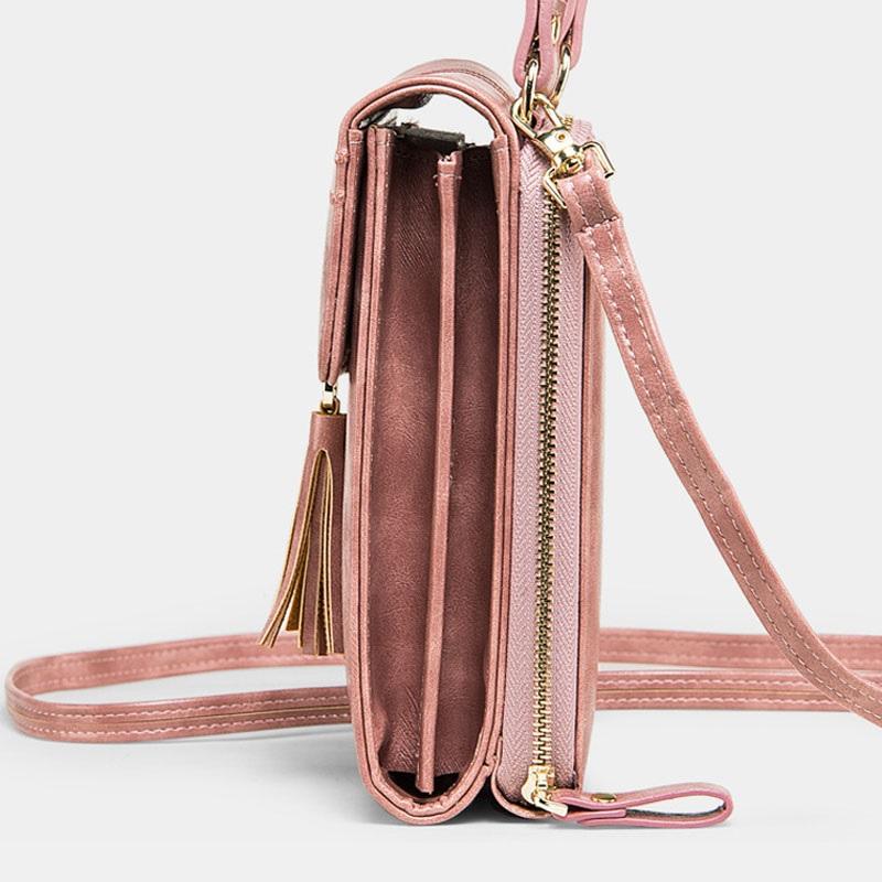 Fashion Tassel Shoulder Bag Phone Bag6