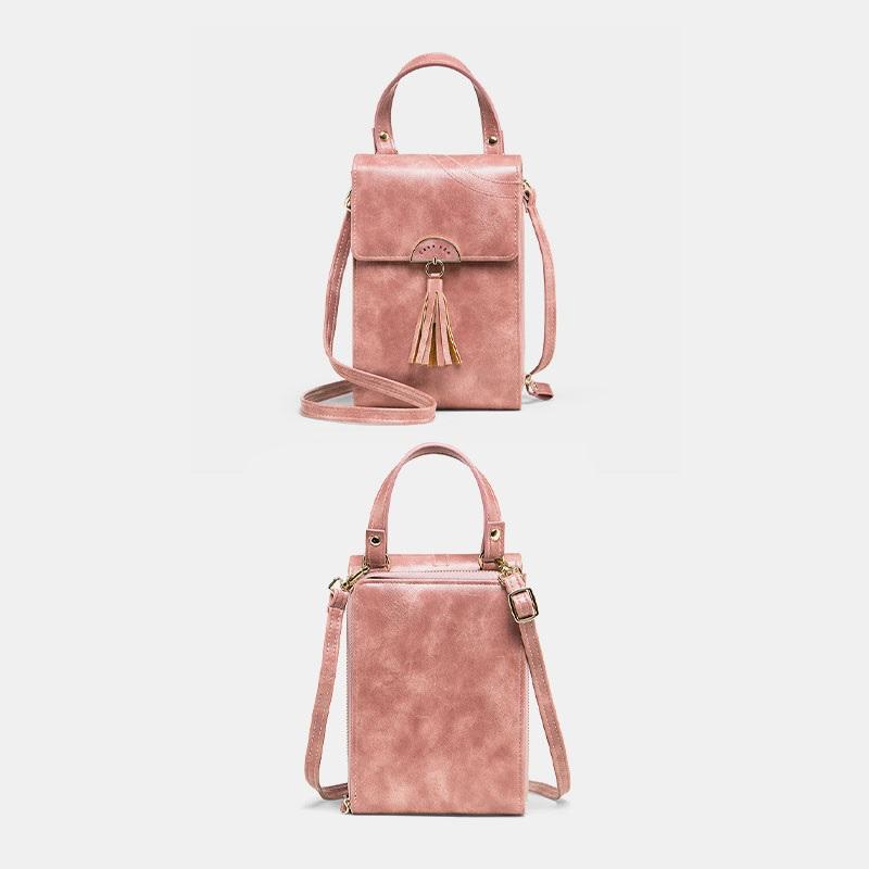 Fashion Tassel Shoulder Bag Phone Bag7