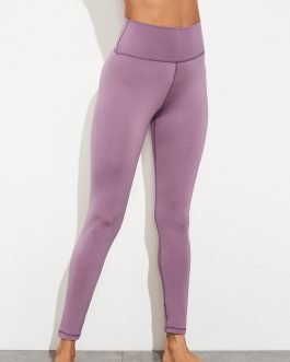 High Waisted Elastic Fly Solid Yoga Pants