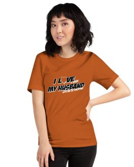 I Love It When My Husband Lets Me Go Shopping Unisex Premium T-Shirt