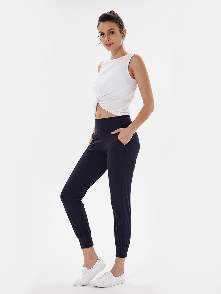Loose Twist Design Sport Fitness Crop Top10