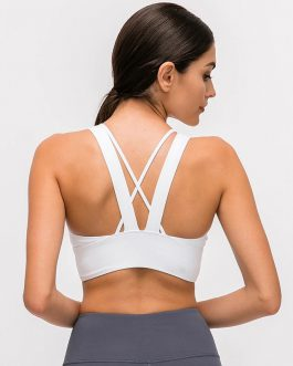 Naked-feel Fabric Fitness Sports Bras