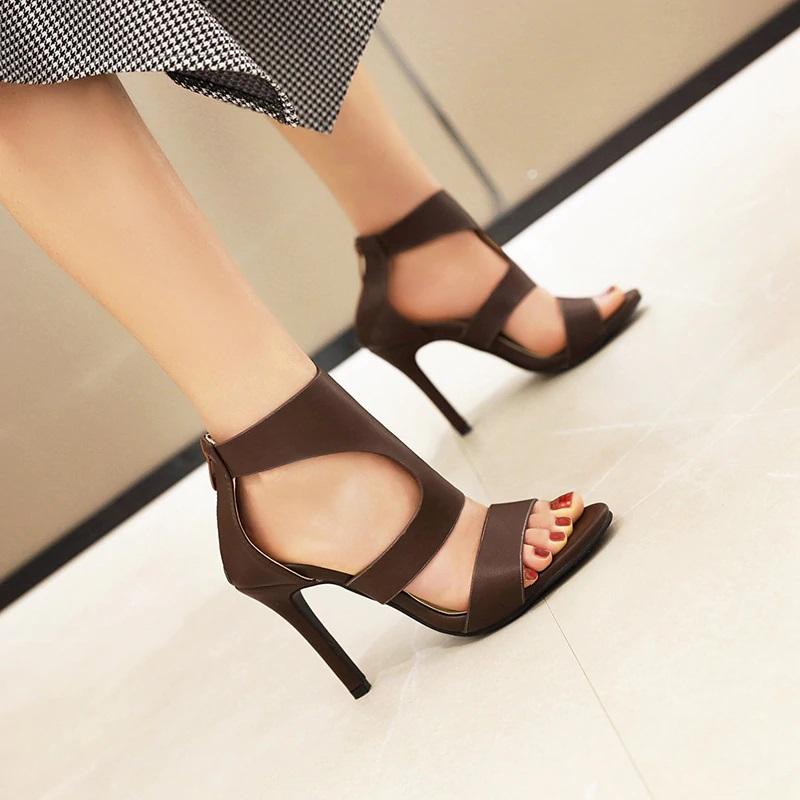 Open toe Stiletto High Heels Sandals 10.1