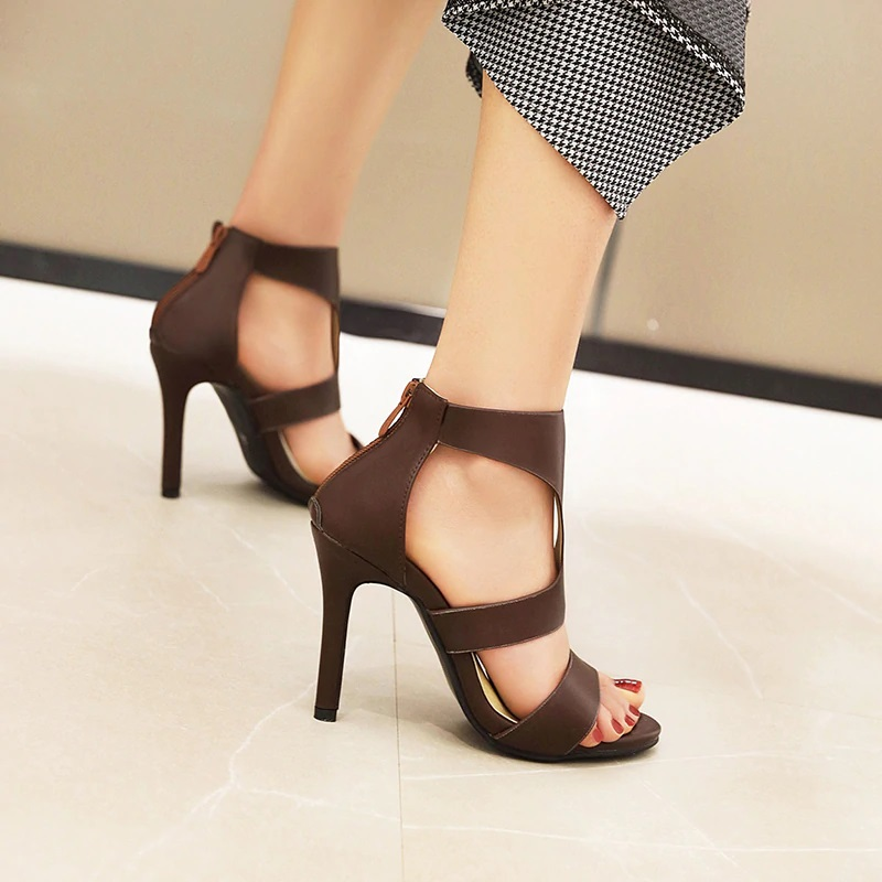 Open toe Stiletto High Heels Sandals 10.2