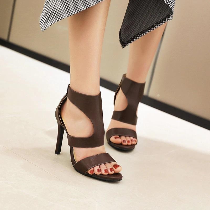 Open toe Stiletto High Heels Sandals 10.3