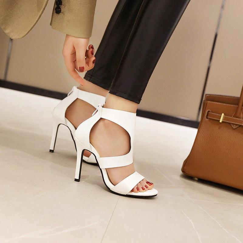 Open toe Stiletto High Heels Sandals 10.5