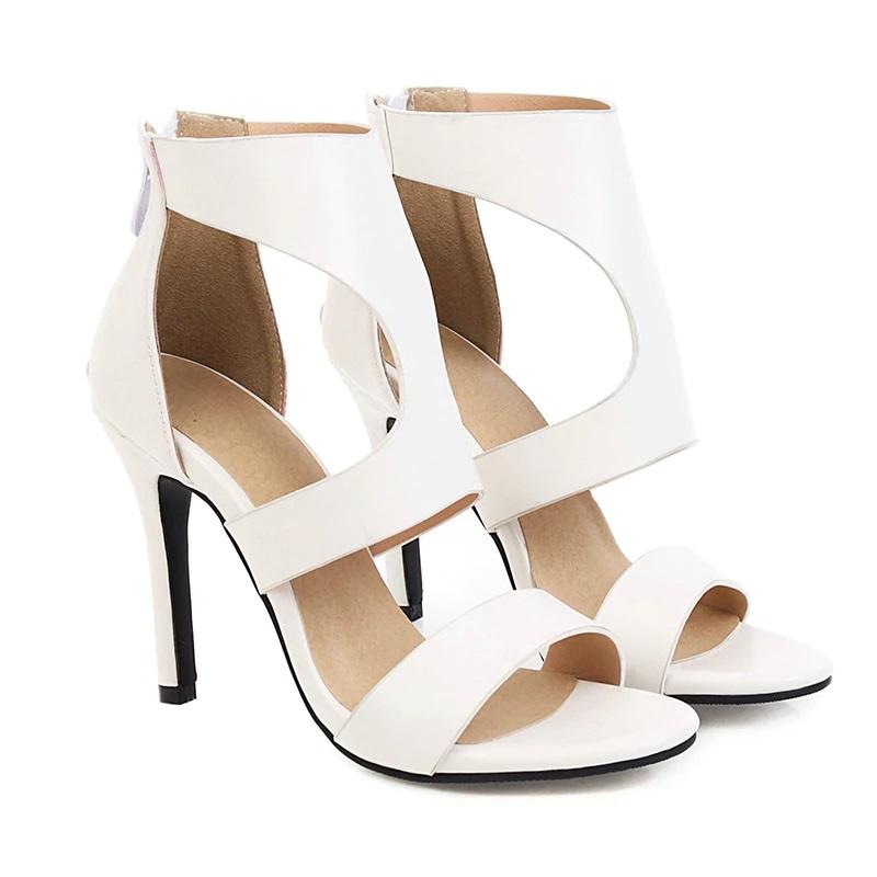 Open toe Stiletto High Heels Sandals 10.7