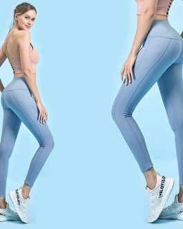 Pure Color Lightweight High Waist Yoga Leggings