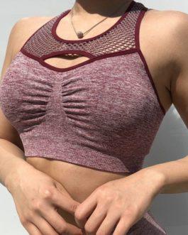 Shockproof Vest-type Gym Sports Bra