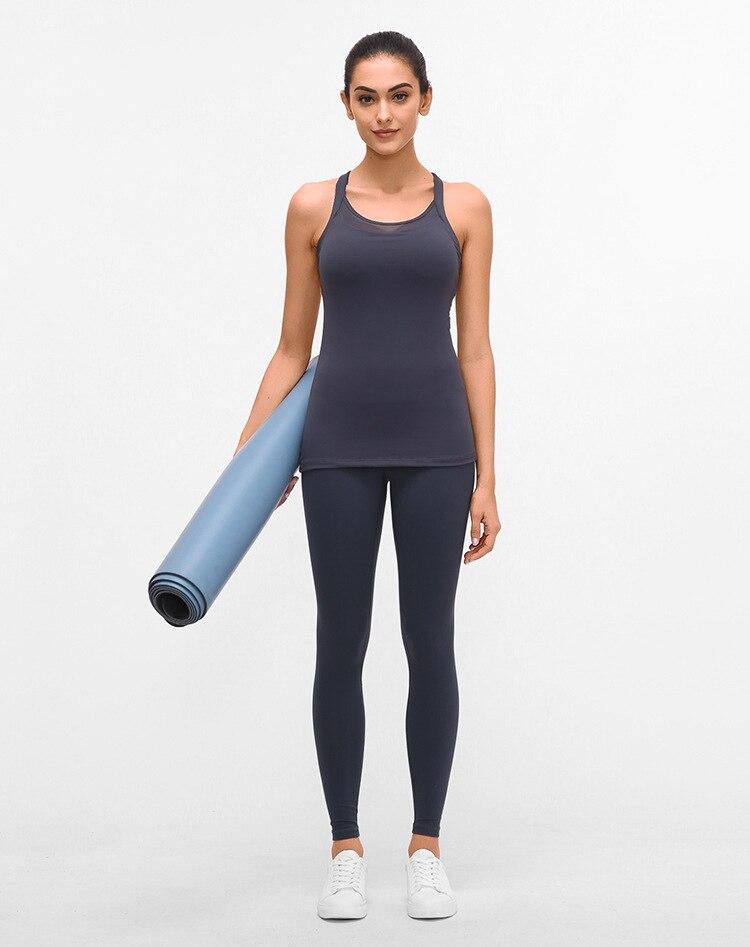 Soft Nylon Running Fitness Tank Tops8