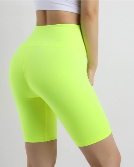 Stretchy High Waist Fitness Yoga Shorts