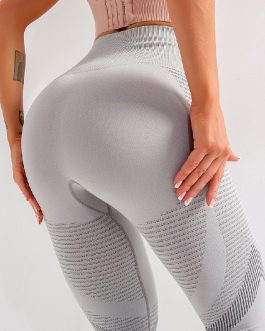 Tummy Control Seamless Fitness Running Leggings