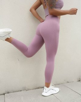 Tummy Control Seamless Fitness Workout Leggings