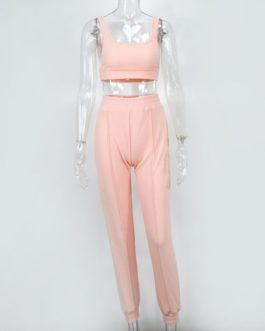 2pcs Loungewear Matching Sets Streetwear Tracksuit