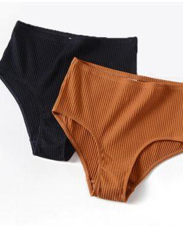 Fashion Stripes Bra and Panties Set
