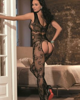 Nylon Cut Out Hosiery Lingerie