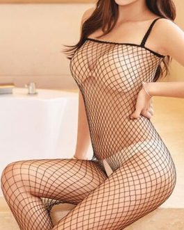 Sexy Bodystocking Fishnet Crotchless Cut Out Lingerie Hosiery