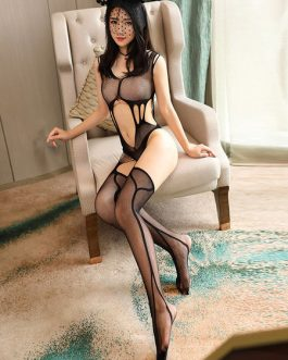 Sexy Bodystocking Sheer Cut Out Net Lingerie
