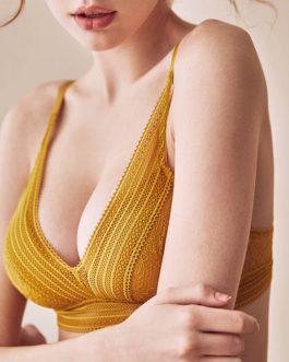 Sexy Embroidery High Quality Bra Set