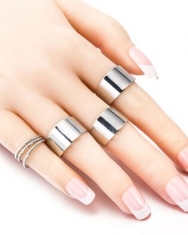 Band Set 6 Pcs Rings Jewelry