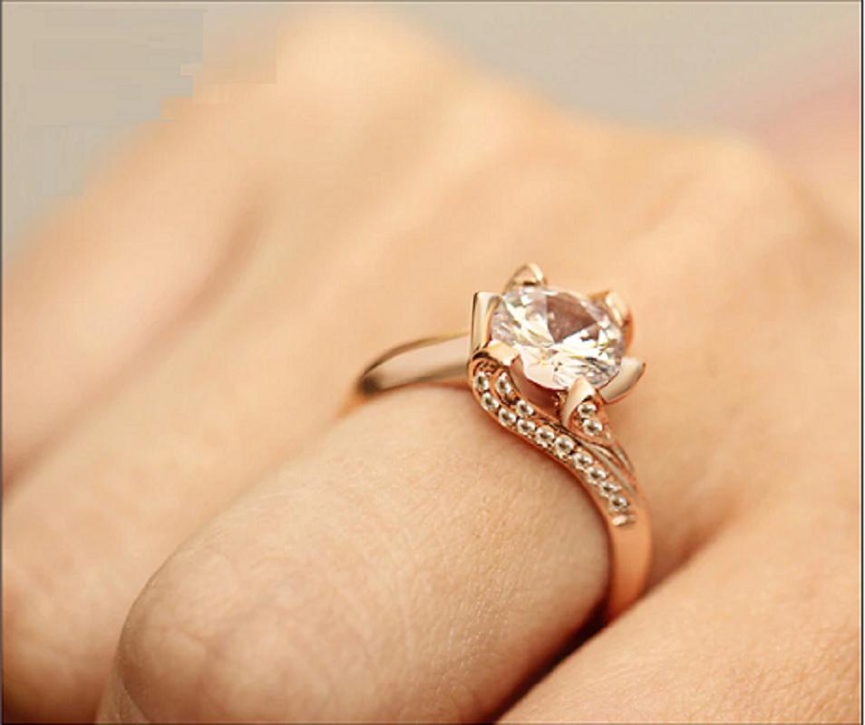 Big Cubic Zirconia Wedding Engagement Rings2