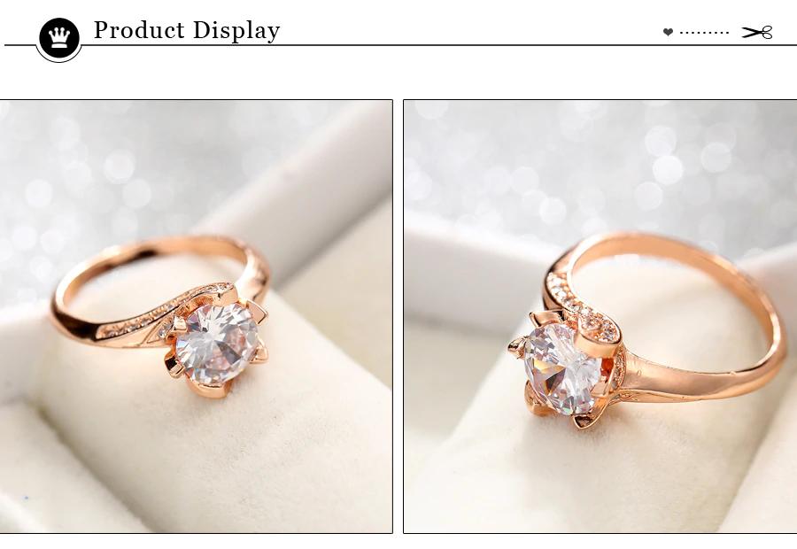 Big Cubic Zirconia Wedding Engagement Rings5